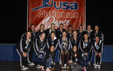 The Lancer Dancers won first place in Hip Hop and fourth place in Jazz at the USA Nationals in Anaheim. Photo Courtesy: Tori DiPietro