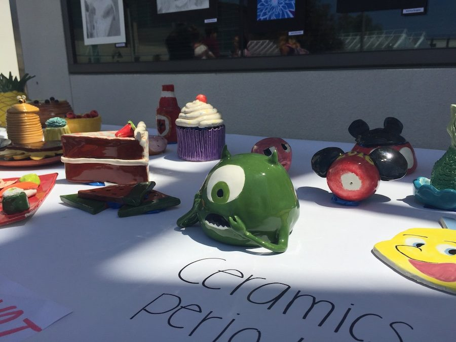 Carlsbad students are known for their creativity and are encouraged to express it everyday. Teachers give the students assignments focused on creativity rather than strict guidelines.