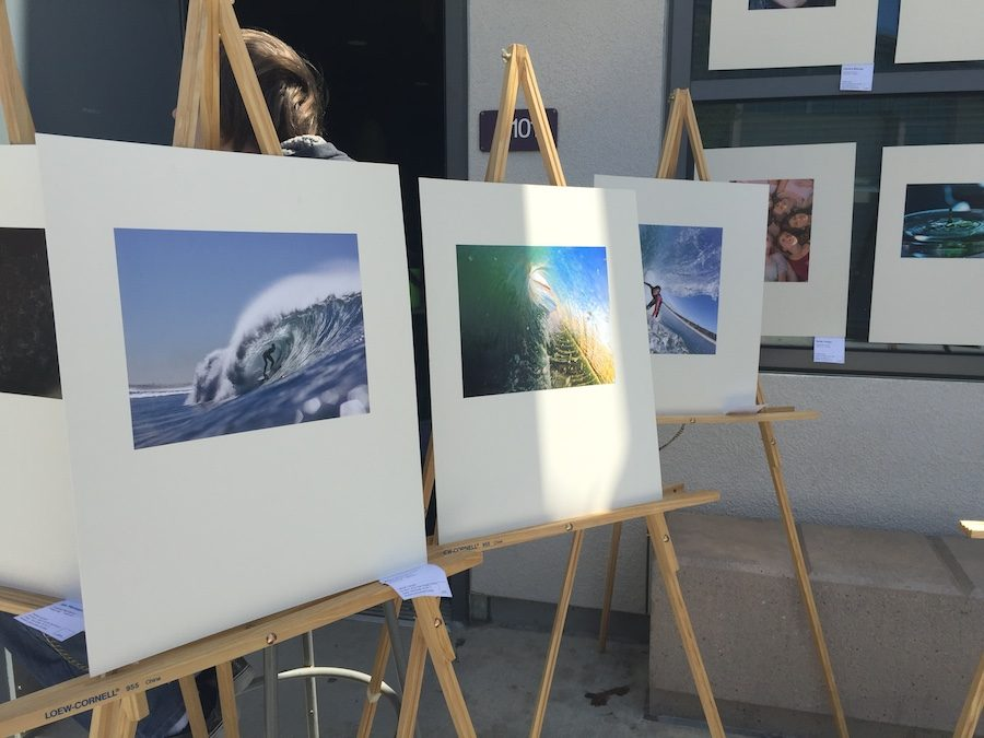 Students find inspiration for their art from their friends and their community. Carlsbad is full of natural beauty teeming with inspiration for young artists.