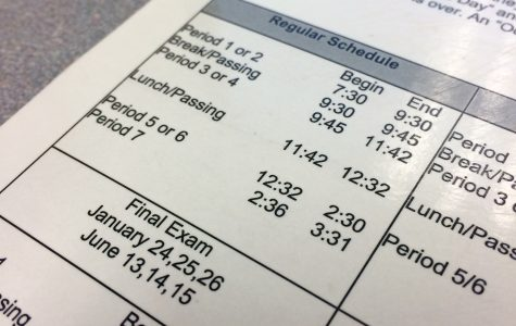 BRIEF: New bell schedule