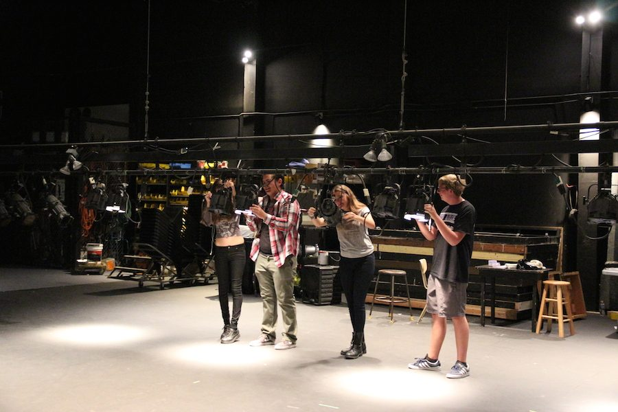 Tech Theatre, Behind the Curtains