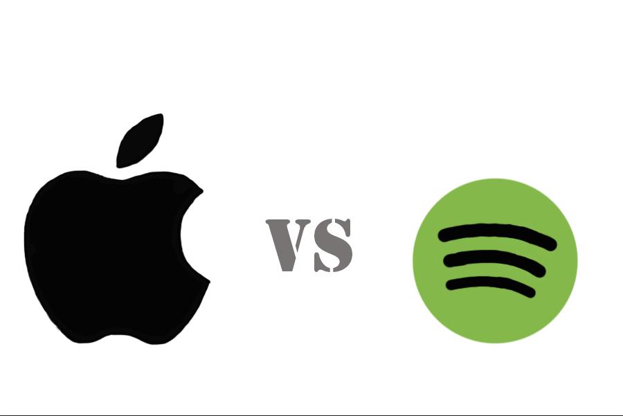 Apple+Music+vs.+Spotify