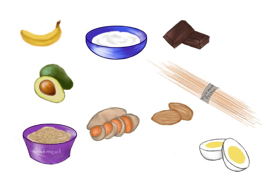 Nine foods to eat before a game