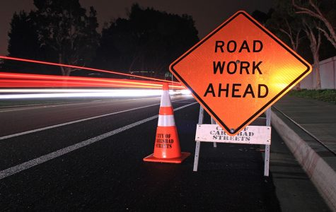 BRIEF: Construction on El Camino Real