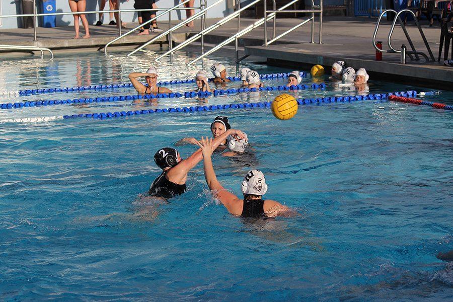 Last season, Bella Schmidt scores a goal in their game against El Camino.