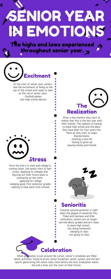 Senior Year in Emotions