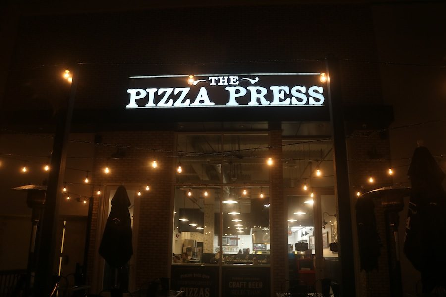 The Pizza Press in CarlsbadTuesday, January 31, CHSs Speech and Debate hosted a fundraiser at The Pizza Press.