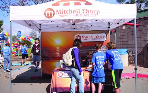 Carlsbad runs for Mitchell Thorp