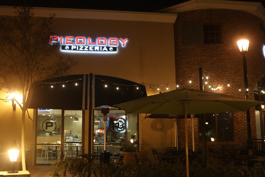 CHS students and family enjoy pizza at Pieology Pizzeria in Carlsbad. Last Tuesday, Feb. 21, Speech and Debate held a fundraiser to offset upcoming fees.