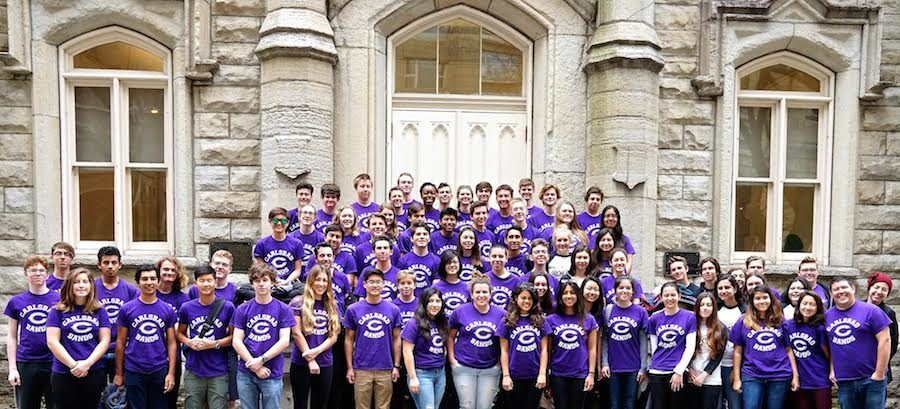 Members of Carlsbad High Schools band visit Chicago, competing in a local competition. The CHS band came out taking home the superior title.