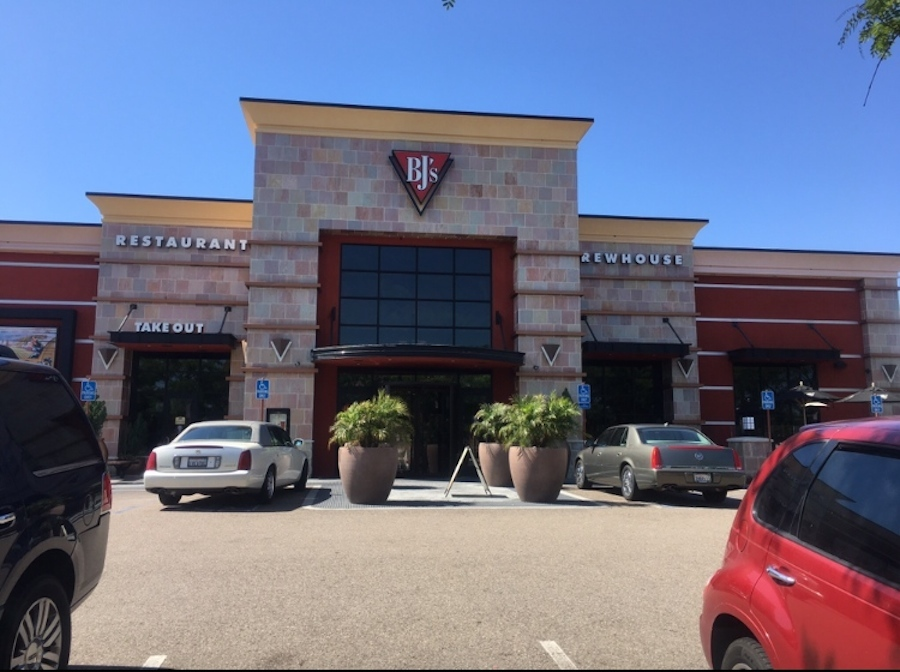 Friends and family enjoy dinner at BJ's Restaurant off of Paseo Del Norte. On Wednesday May 24th, from 4pm to 9pm, CHS Coral Boosters had a fundraiser for their different teams.