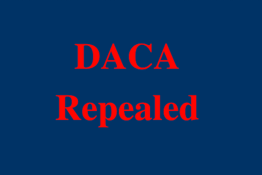 Dreamers program repealed by President Trump