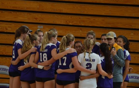 JV volleyball begins a new season