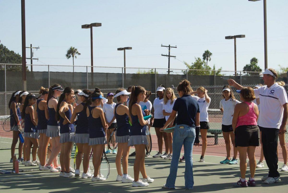 JV tennis coaching
