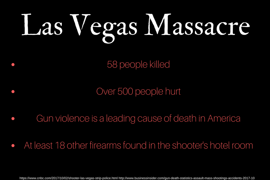 Massacre takes place in Las Vegas
