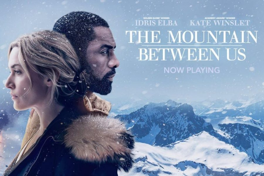 The Mountain Between Us stars Idris Elba and Kate Winslet. The movie was released in October of 2017.