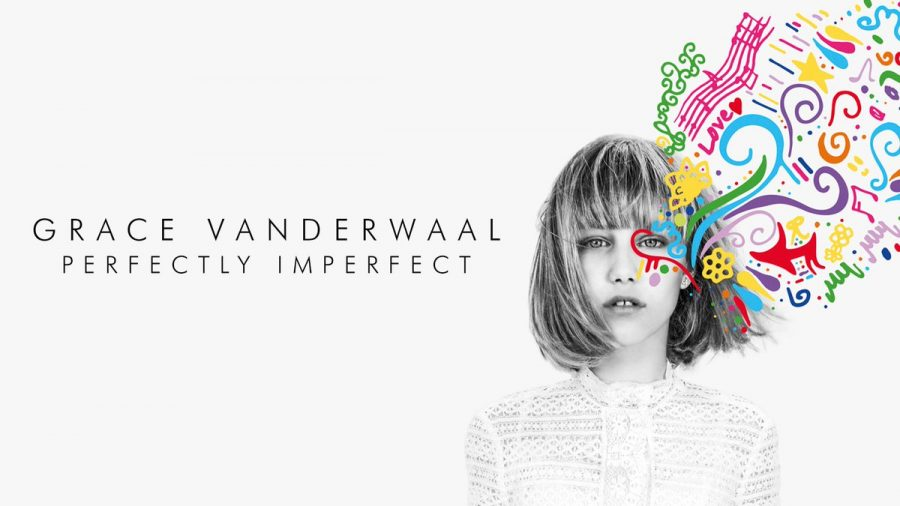 The new cover of Grace Vanderwaals Perfectly Imperfect album. This new album was released on December 2, 2016.