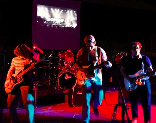 Shangri-la performs at a battle of the bands on Oct. 7.