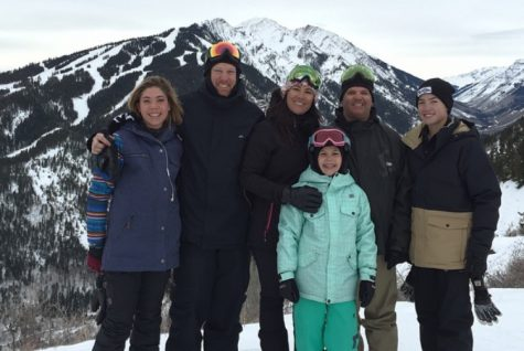 Harper family takes to the slopes