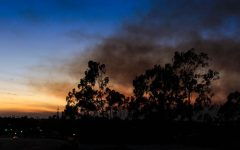 Fires blaze throughout Southern California, causing thousands of people to evacuate and leave their homes behind.