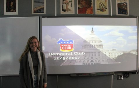 BRIEF: Senior Sarah Morgan co-founds Democrat Club