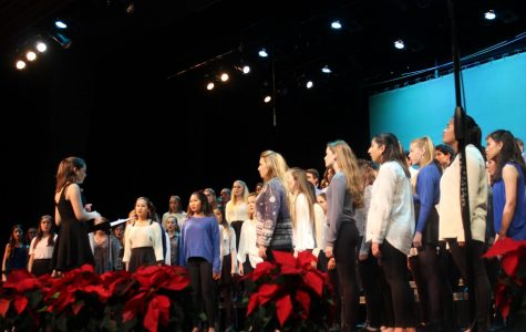 BRIEF: winter choir show