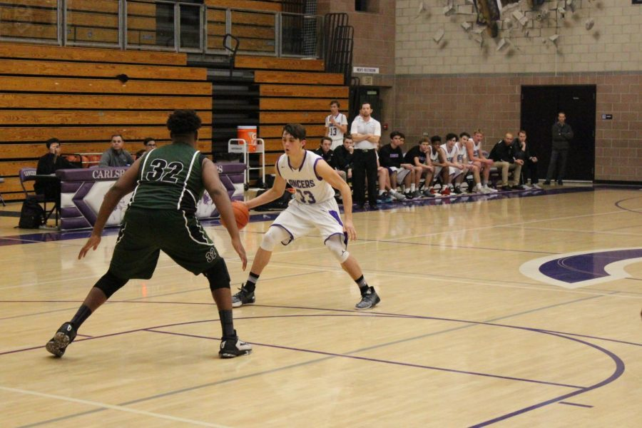 JV Basketball Game 1/12
