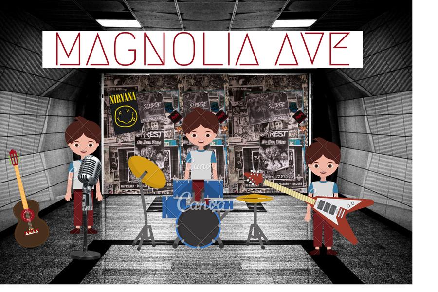 Magnolia Avenue on Magnolia Avenue