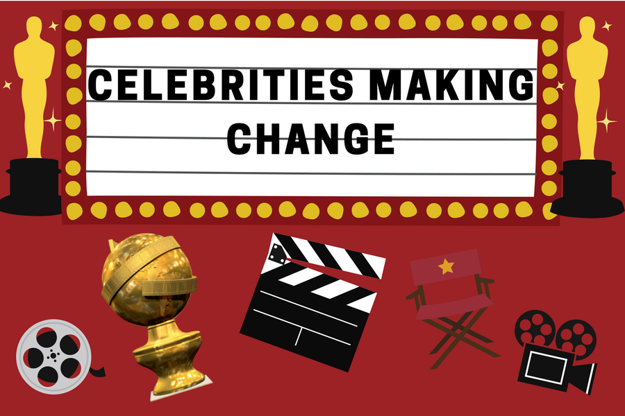 Celebrities using their platforms to make change
