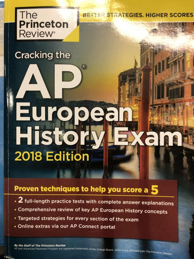 During the month of May, students start to prepare for the AP test. Every student is able to purchase an AP book for the class they are taking the exam in.