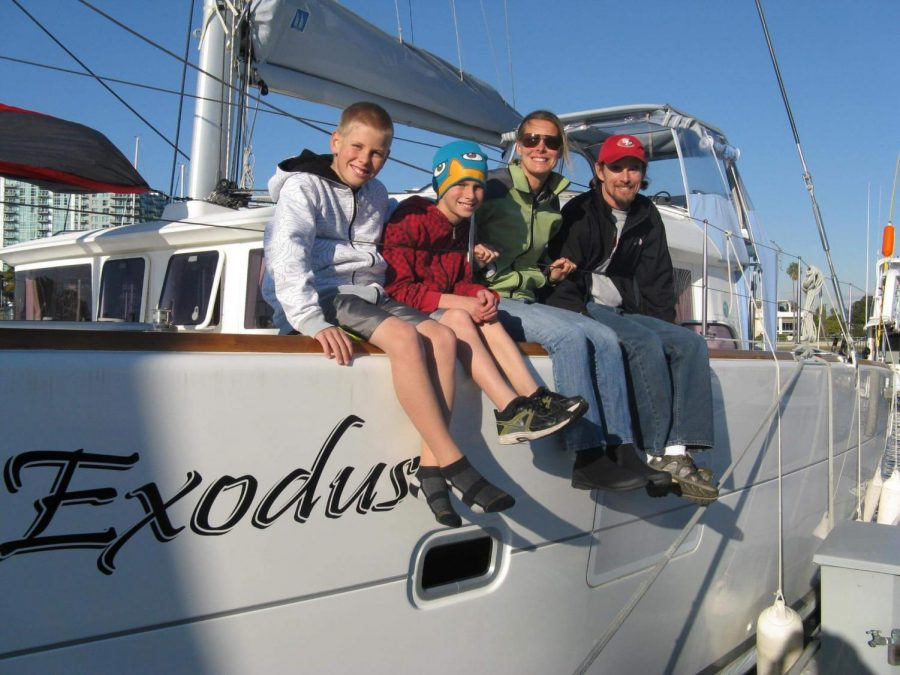 BRIEF: Alex and Brenden Gresham return to Carlsbad after life at sea