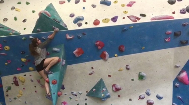 Zahra Alawi climbs over her fears
