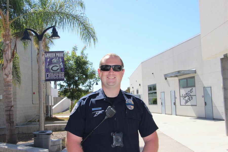Officer J. Fetko is an employee of the City of Carlsbad police department.