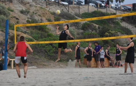 Inside Carlsbad beach volleyball