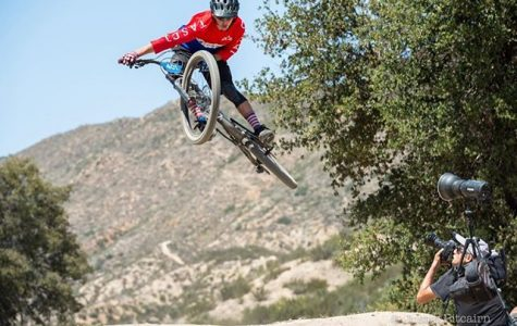 Mountain biker rides toward new team