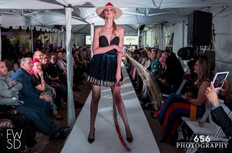 Uprising model walks her first runway