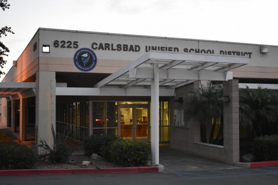 The+Carlsbad+Unified+School+District+Board+of+Trustees+convenes+at+the+CUSD+office.+These+meetings+typically+occur+on+the+second+Tuesday+of+each+month.