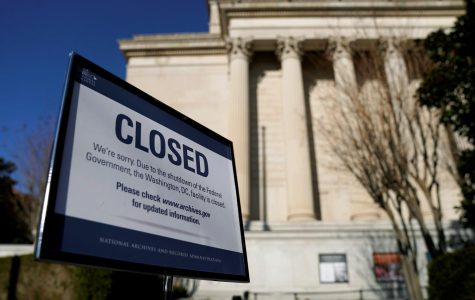 The Government shutdown impacts all federal buildings and agencies, resulting in a lot of closures.