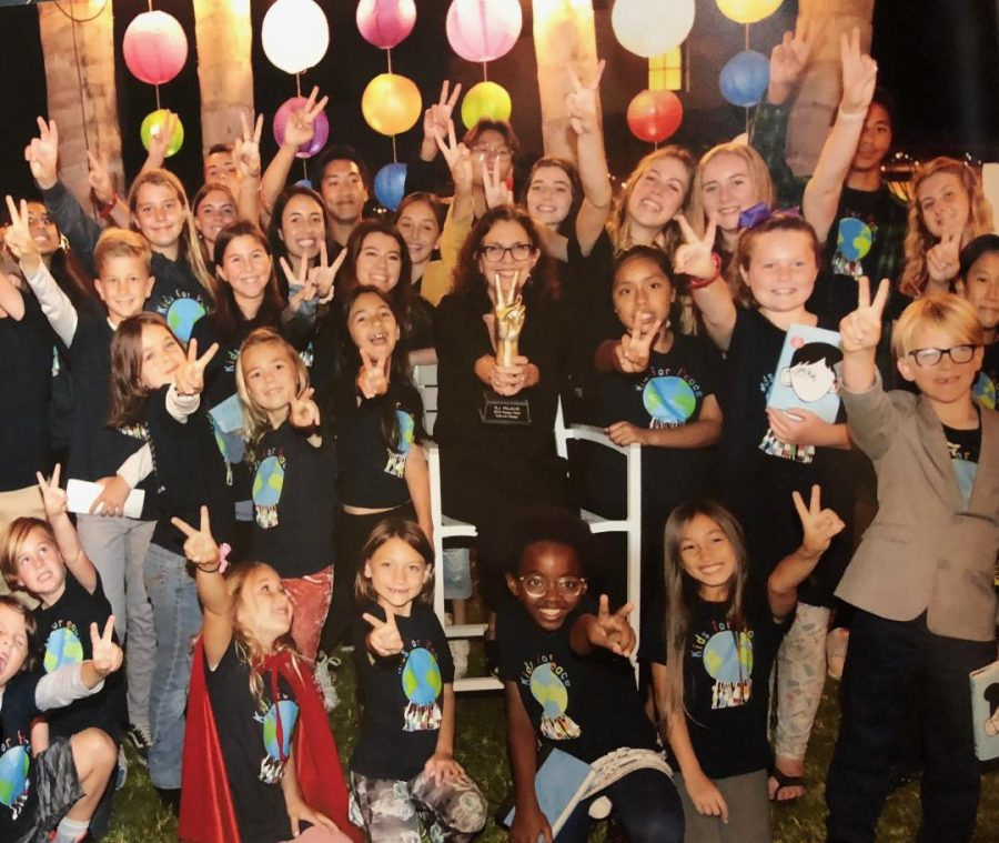 High+schoolers+in+internship+academy+participate+in+Kids+for+Peace.