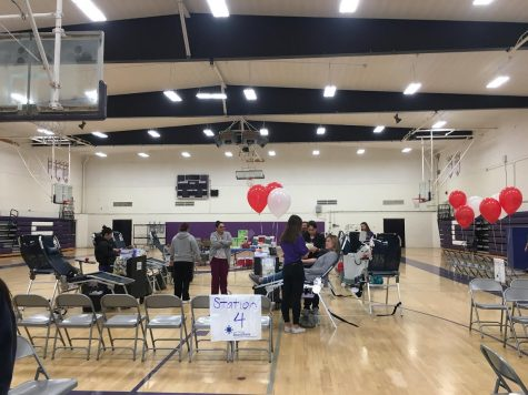 On Feb. 26, students and adults alike came together to donate blood for the annual Blood Drive in partnership with the San Diego Blood Bank.