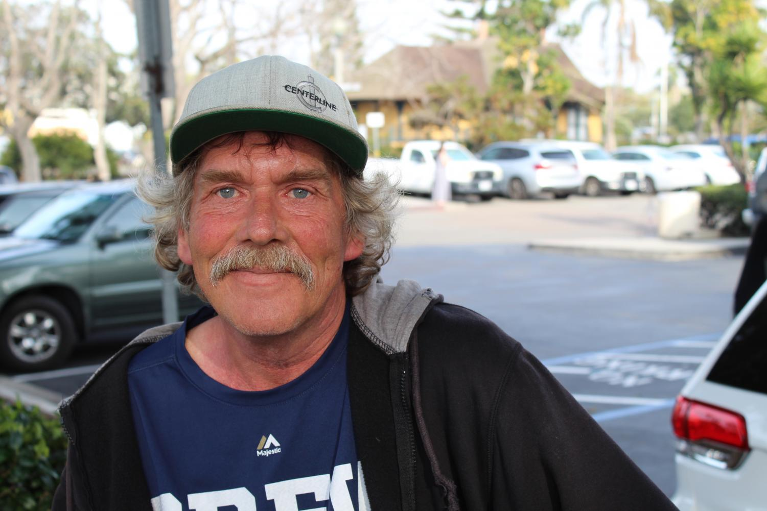 Kenny has been homeless for 16 years, working with Interfaith Community Services to combat alcoholism and homelessness.