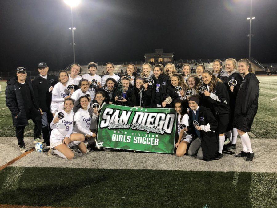 Girls soccer wins CIF Open Division