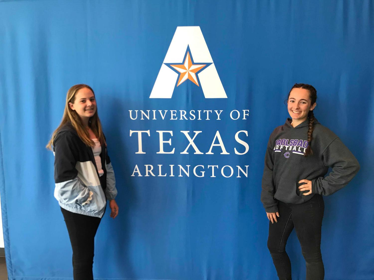 Junior+Megan+Wilson+traveled+to+Texas+with+her+sister+to+tour+colleges.