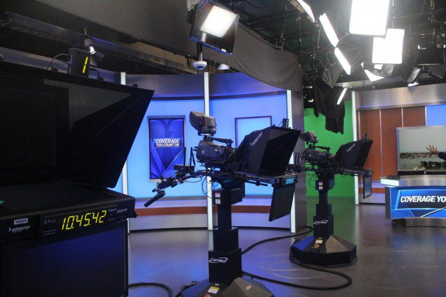 Inside the NBC 7 San Diego studio.