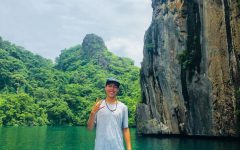 Senior Kai Burke visiting Palawan in the Philippines. Burke has family there so he has been to the country multiple times. Photo courtesy of Kai Burke.