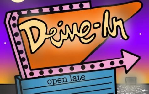 The Santee drive in movie theater is only one of two in San Diego County. Children, teens and adults alike gather to experience this