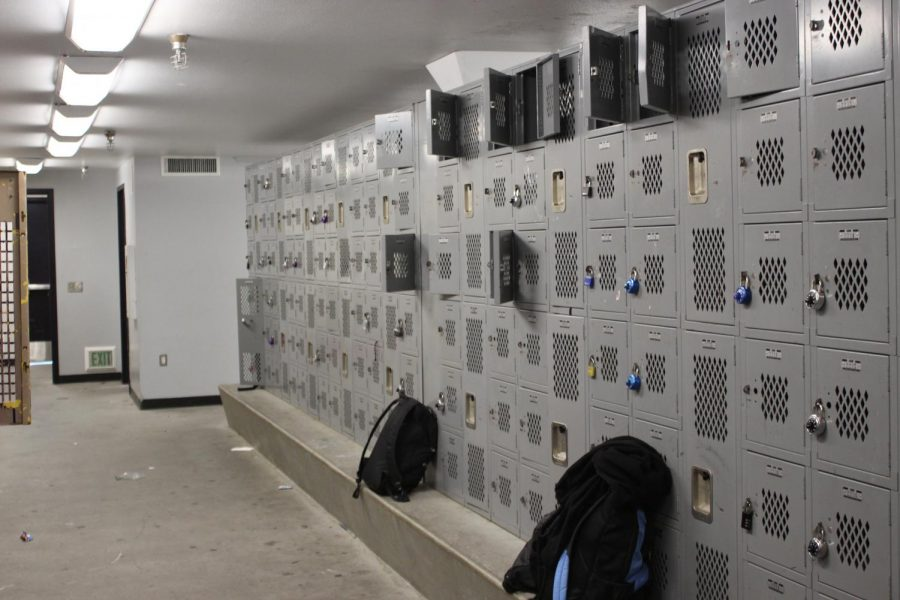 School lockers should be established throughout campus.