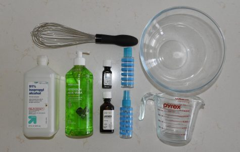 How to make home made hand sanitizer