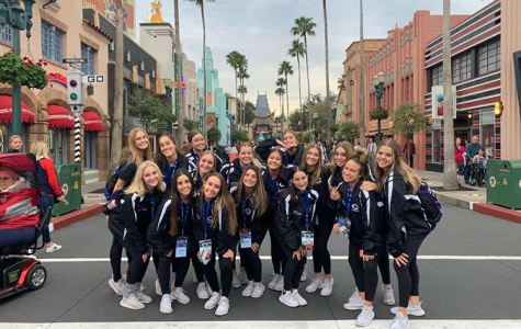The Lancer Dancers pose while in Orlando, FL for their UDA Nationals competition.