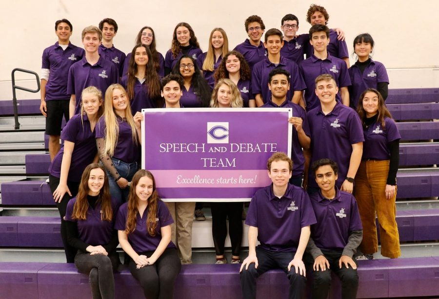 More than twenty speech and debate competitors qualified for State Championships, which were to be held on April 24. Students in all grade levels qualified in different events, including debates, original speeches and acting events.